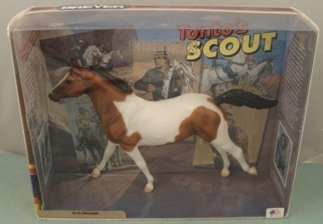 Lone Rangers Tontos Horse Scout from Breyer MIB