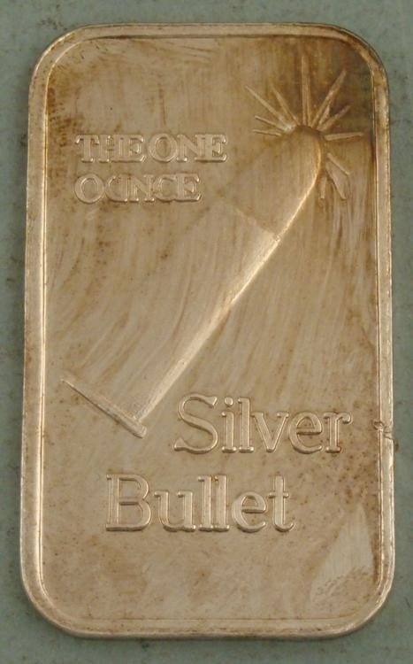 Lone Ranger Silver Bullet Bar .999 One Troy Ounce