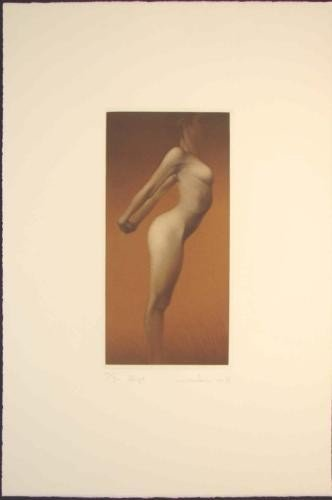 Mikio Watanabe LE Art Mezzotint ALIZE Sensual Nude