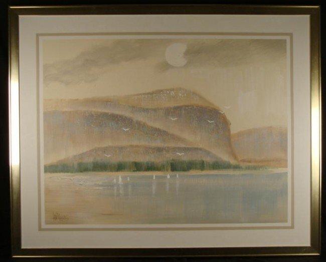 Lee Reynolds Large Seashore Art Painting