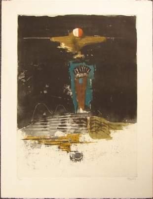 Johnny Friedlaender Fine Art LE PRINT Winter Night 1985