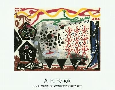 Penck Eriegnis in NY 2 1983 Poster