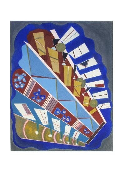 Kandinsky Untitled Lithograph