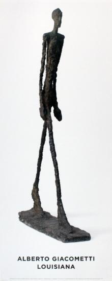 2009 Giacometti Homme Qui Marche Poster