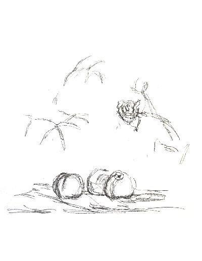 Giacometti Fleurs Mourlot Lithograph
