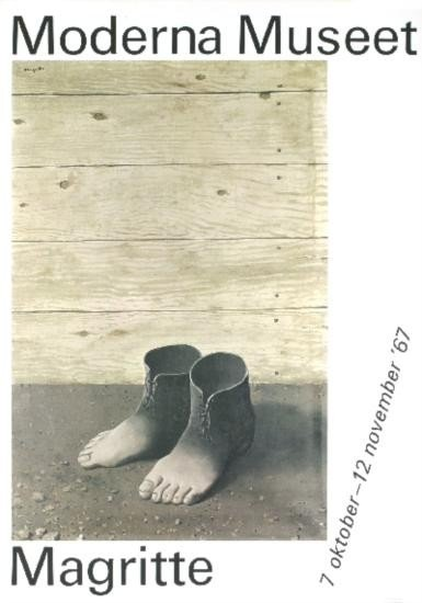 Magritte Moderna Museet Lithograph