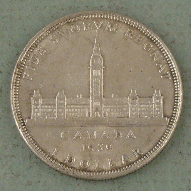 High Grade Canada 1939 Silver Dollar