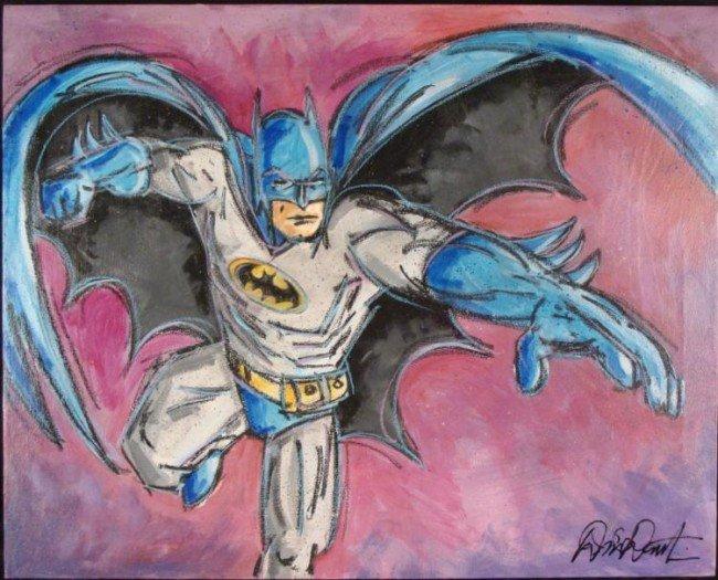 Duerrstein BATMAN Original Comic Art Painting