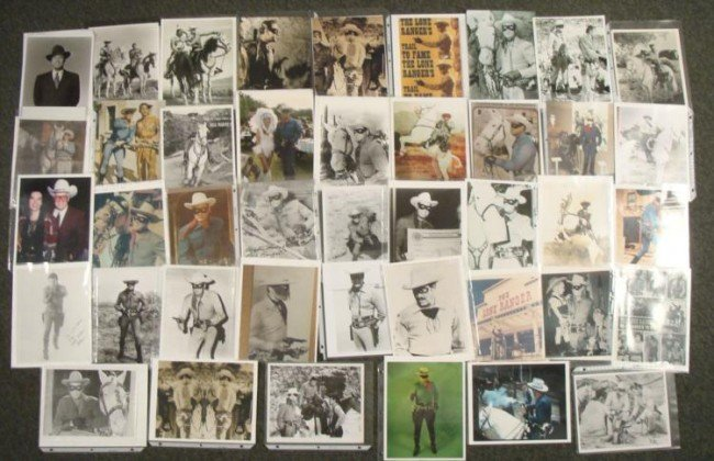 Lone Ranger Big Photo Collection 80+ 8 x 10s