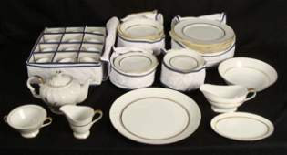 Claridge Marquise China 54 Pc Dinnerware Set for 12 MIJ