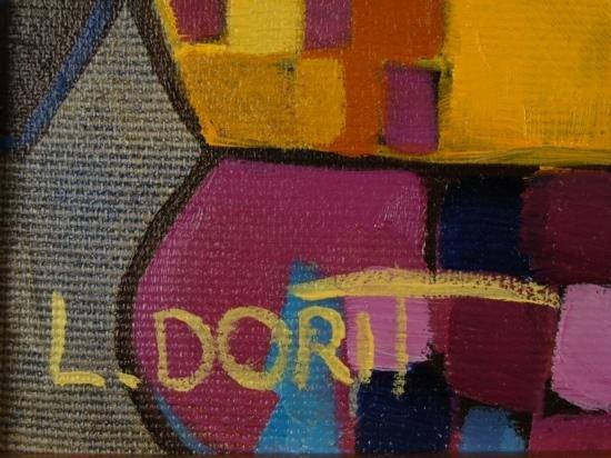 Dorit Levi Original Framed Oil Painting Cocktail Party - 3