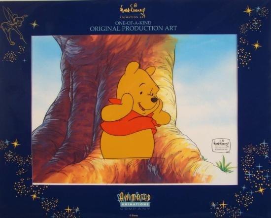 WINNIE THE POOH Disney Animation TV Production Art Cel