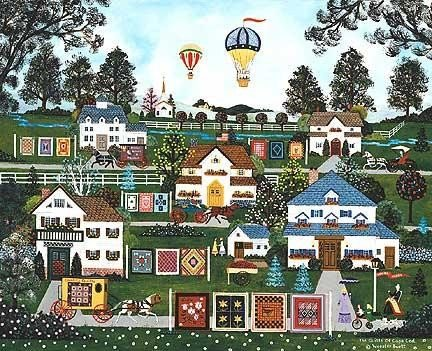 The Quilts of Cape Cod by Jane Wooster Scott Signed