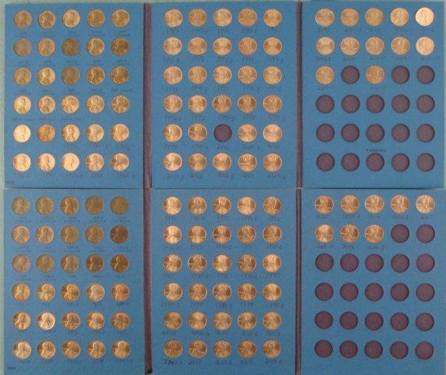 2 UNC Lincoln Complete Sets 1975-2010, 139 Coins