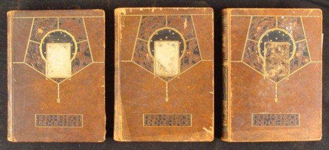 3 Rare German History Book Der Mensch und die Erde 1907