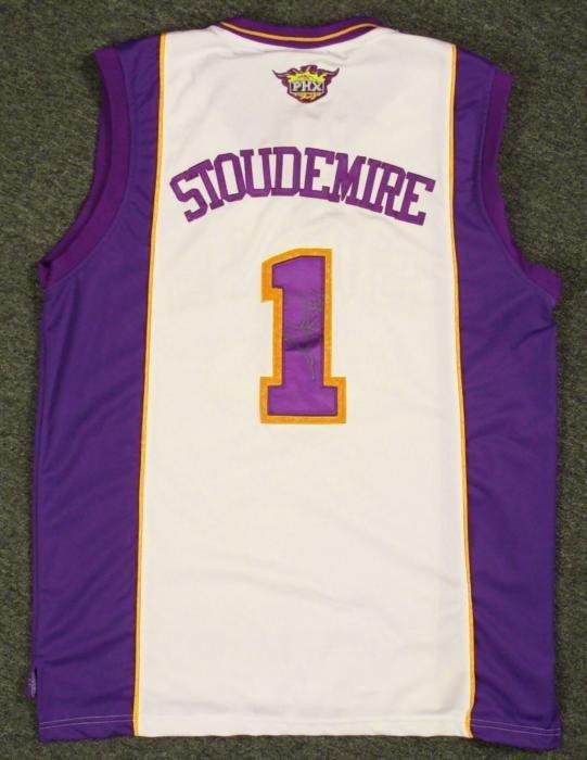 Amare Stoudemire Signed Jersey Phoenix Suns NBA