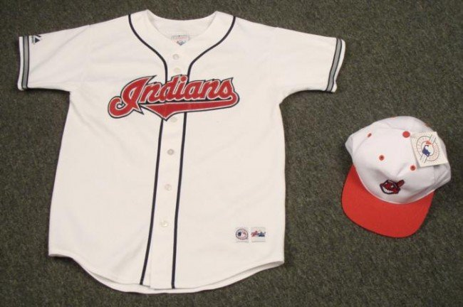 Cleveland Indians Youth Vintage Jersey Baseball Hat