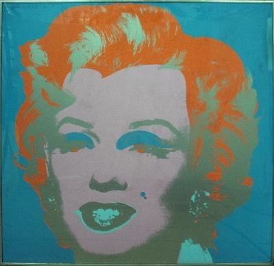 Sunday B Morning Marilyn (After Warhol) Serigraph