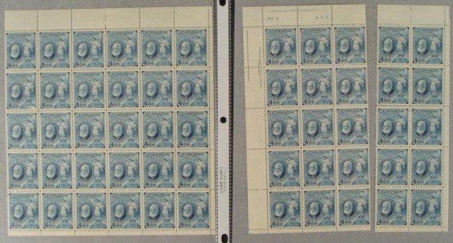 55 Canada Alexander Graham Bell Stamps 1 Full Sheet