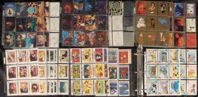 Disney Collector Card Sets Mermaid Aladdin Mickey 400+