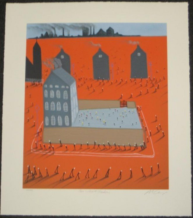 Mackenzie Thorpe Time Without Shadows Ltd Ed. Art Print