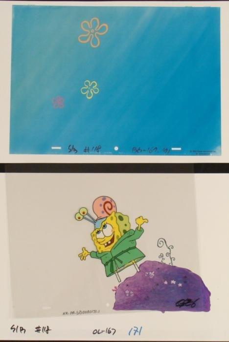 Spongebob Cel Original Production Repro Backgrounds