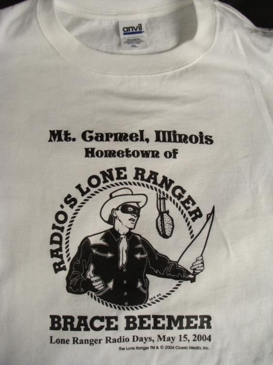 3 Lone Ranger T Shirts, Sweatshirt Fan Club, Mt. Carmel - 2