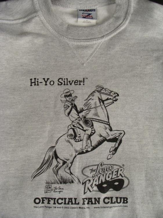 3 Lone Ranger T Shirts, Sweatshirt Fan Club, Mt. Carmel - 3