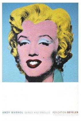 Warhol Marilyn Poster