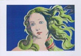Warhol Birth of Venus-Purple Poster