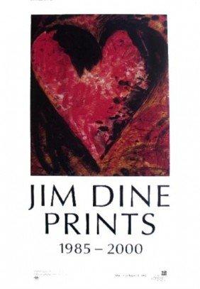 Dine Prints 1985-2000 Poster