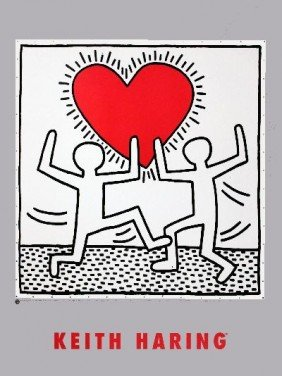 Haring Untitled (October 7, 1982) Poster