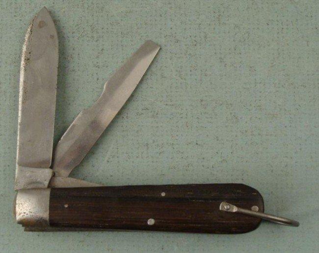 WWII U.S. MILITARY CAMILLUS FIELD FOLDING KNIFE