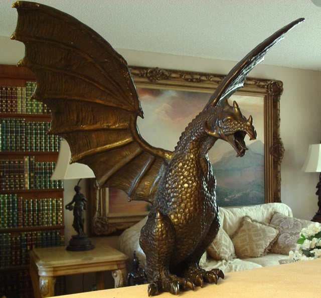 Massive Bronze Sculpture Dragon