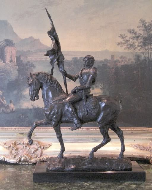 Marvelous Bronze Sculpture Sir Lancelot - Camelot