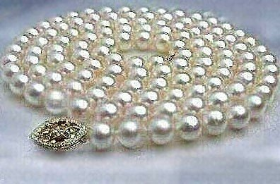 Rare Freshwater Pearl necklace 8-9MM 32in