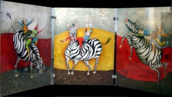 Droles de Zebres Original Lithographs