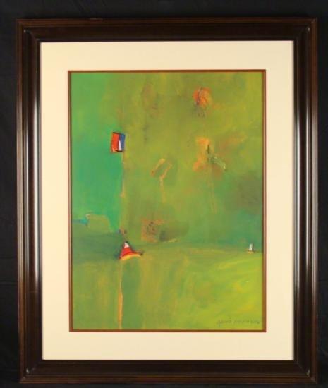 Cecilia Garcia Amaro Original Painting/ Drawing Banjo