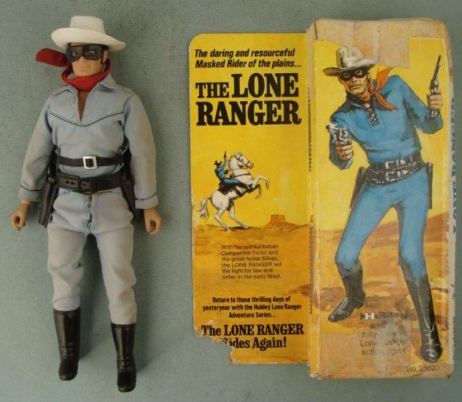 Lone Ranger Gabriel Vintage Action Figure 1973 IN BOX