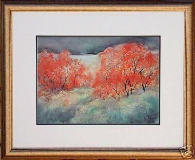 Fall Trees- Elizabeth Welch