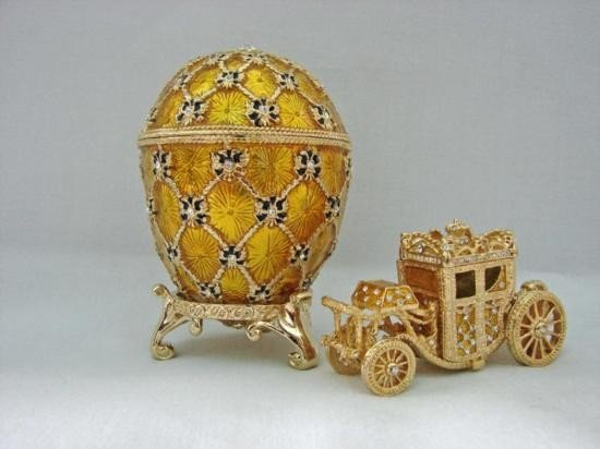 FABERGE ~ THE FIRST IMPERIAL EASTER CORONATION EGG ~