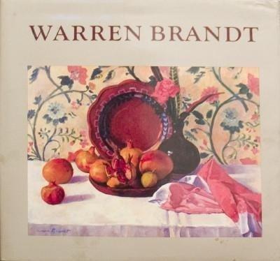 Signed Warren Brandt by Nicholas Fox Weber Book