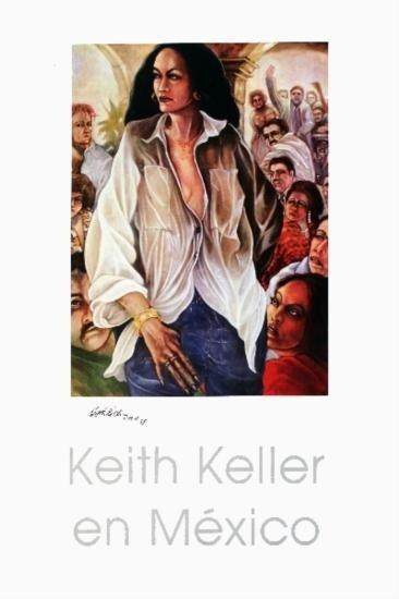 Signed 1987 Keller La Fragua Offset Lithograph