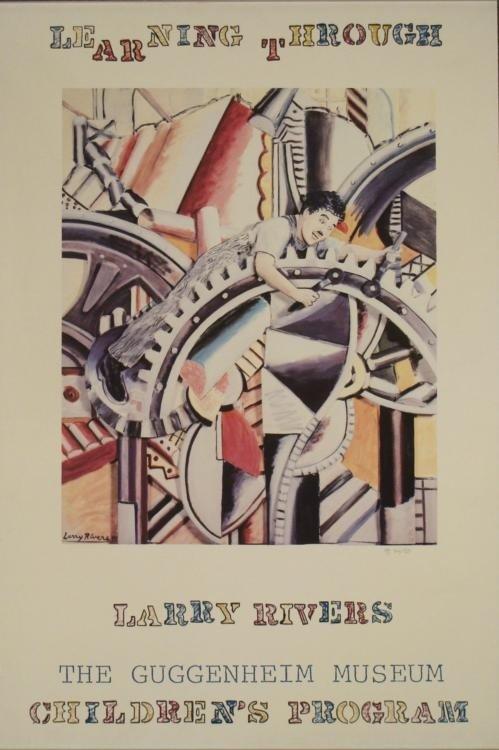 Larry Rivers : Modern Times Guggenheim Art Print