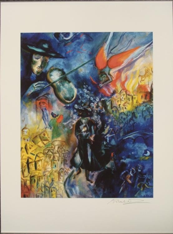 Shoshanna Brombacher : The Golem of Prague Art Print