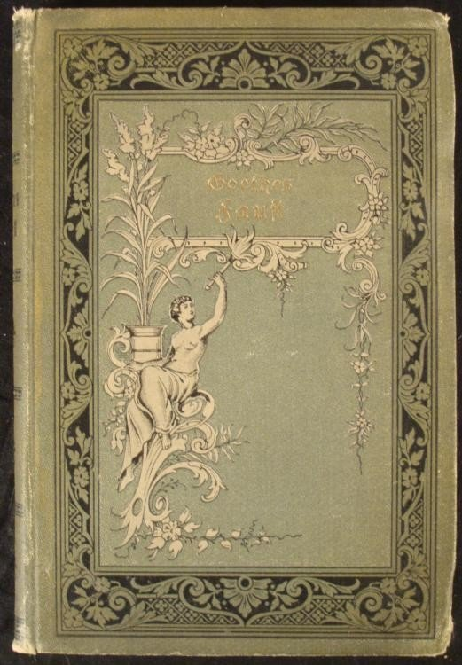 1920S EDITION OF GOETHES FAUST IN GERMAN-