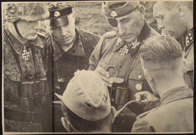 ORIGINAL NAZI SS POSTCARD SS OBERGRUPPENFUHRER, WAFFEN