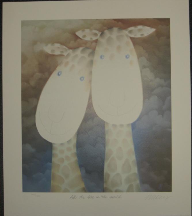 Mackenzie Thorpe All the Love in the World Art Print
