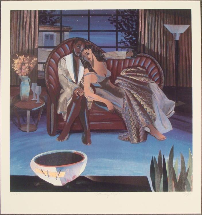 Gigi Boldon : Saturday Night Romantic Art Print