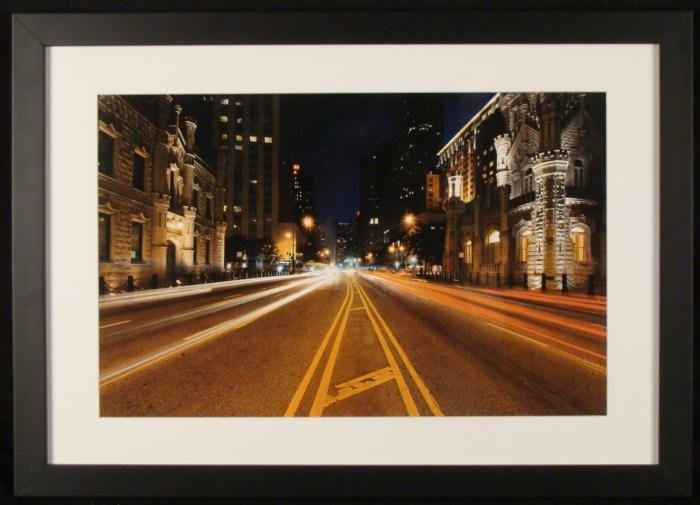 Chicago Michigan Avenue Water Tower Photograph Framed